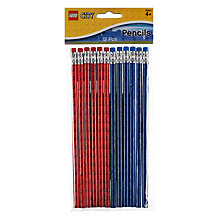 Buy Lego Party Pencils, Pack of 12 Online at johnlewis.com