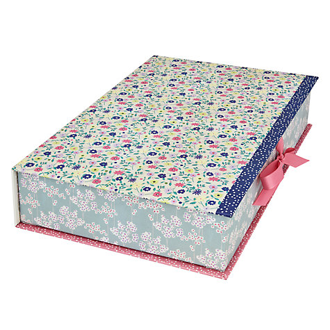 Buy Kirstie Allsopp Vintage Garden A4 Box File Online at johnlewis.com