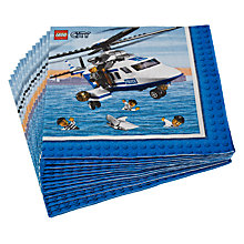 Buy Lego Disposable Napkins, Pack of 16 Online at johnlewis.com