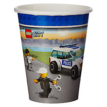 Buy Lego Paper Party Cups, Pack of 8 Online at johnlewis.com