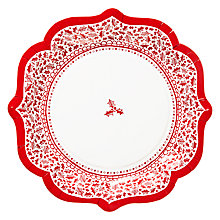 Buy Talking Tables Let It Snow Paper Plates, Set of 8 Online at johnlewis.com