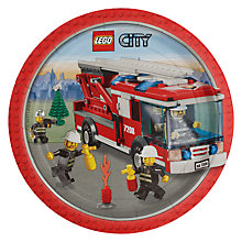 Buy Lego Party Paper Plates, Pack of 8 Online at johnlewis.com