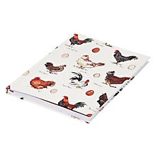 Buy Madeleine Floyd Chicken A5 Notebook Online at johnlewis.com