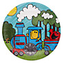 Talking Tables Mr Men Transport Party Plates, Pack of 8