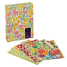 Buy Liberty Floral Notecards, Pack of 16 Online at johnlewis.com