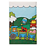 Talking Tables Mr Men Transport Table Cover