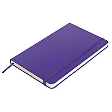 Buy Moleskine Ruled Notebook, Large Online at johnlewis.com