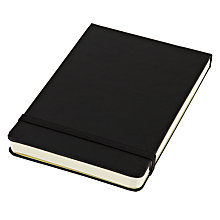 Buy Moleskine Reporter's Ruled Notebook, Black Online at johnlewis.com