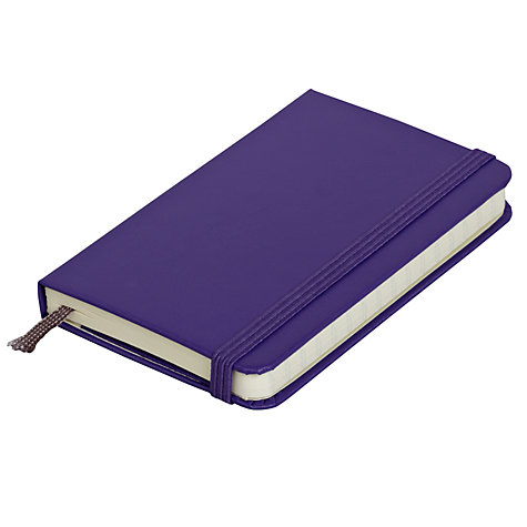 Buy Moleskine Ruled Notebook, Small, Purple Online at johnlewis.com
