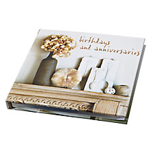 Buy Ryland Peters & Small Hydrangea Birthday and Anniversary Book Online at johnlewis.com