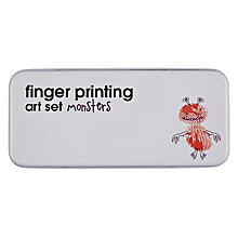 Buy Natural Products Monsters Finger Paints Set Online at johnlewis.com