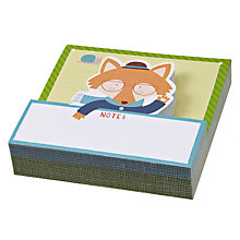Buy Chronicle Books Mr Fox Memo Pad Online at johnlewis.com