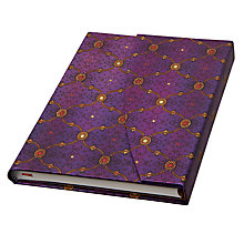 Buy Paperblank French Ornate Notebook, Violet Online at johnlewis.com