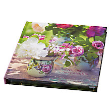 Buy Ryland Peters & Small Floral Birthday and Anniversary Book Online at johnlewis.com