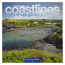 Buy Coastlines Of Britain Square 2014 Calendar Online at johnlewis.com