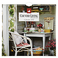 Buy Country Living Square 2014 Calendar Online at johnlewis.com