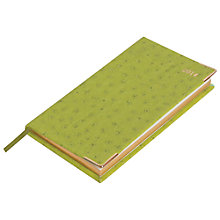 Buy Caspari Ltd Lizard Fush Slim 2014 Diary Online at johnlewis.com