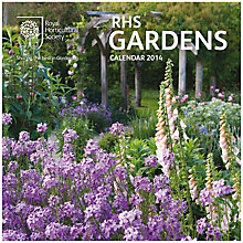 Buy Royal Horticultural Society Gardens Square 2014 Calendar Online at johnlewis.com