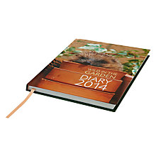Buy Royal Horticultural Society Wild In The Garden 2014 Diary Online at johnlewis.com