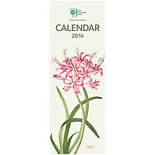 Buy Royal Horticultural Society Slim 2014 Calendar Online at johnlewis.com
