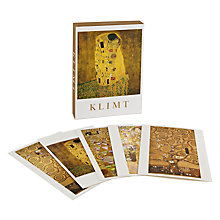 Buy Te Neues Klimt Notecards, Pack of 20 Online at johnlewis.com