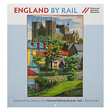 Buy National Railway Museum England by Rail Square 2014 Calendar Online at johnlewis.com