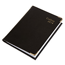 Buy Collins Business Pocket 2014 Diary with Pencil, Black Online at johnlewis.com