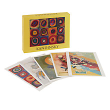 Buy Te Neues Kandinsky Notecards, Pack of 20 Online at johnlewis.com