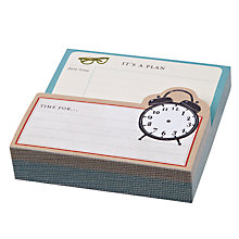 Buy Chronicle Books Vintage Clock Memo Pad Online at johnlewis.com