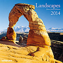 Buy Peter John Fellows Landscapes 2014 Calendar Online at johnlewis.com
