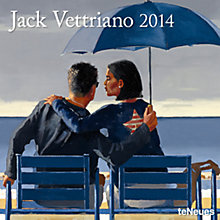 Buy Te Neues Jack Vettriano Square 2014 Calender Online at johnlewis.com
