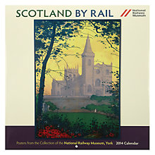 Buy National Railway Museum Scotland by Rail Square 2014 Calendar Online at johnlewis.com