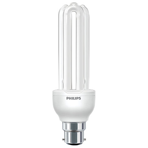 Buy Philips 18W BC CFL Stick Bulb Online at johnlewis.com