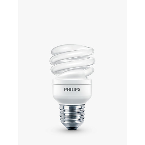 Buy Philips 15W ES CFL Spiral Bulb Online at johnlewis.com