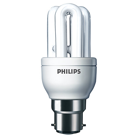 Buy Philips 8W BC CFL Stick Bulb Online at johnlewis.com