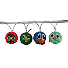 Buy Sirius Cotton Animals LED Line Lights, x16 Online at johnlewis.com