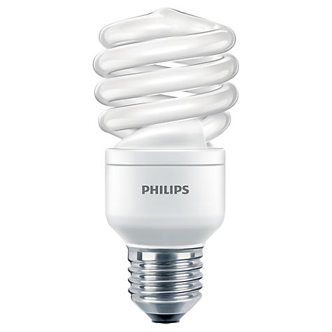 Buy Philips 23W ES CFL Spiral Daylight Bulb Online at johnlewis.com
