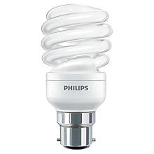 Buy Philips 23W BC CFL Spiral Daylight Bulb Online at johnlewis.com