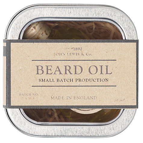 Buy JOHN LEWIS & Co. Beard Oil, 50ml Online at johnlewis.com