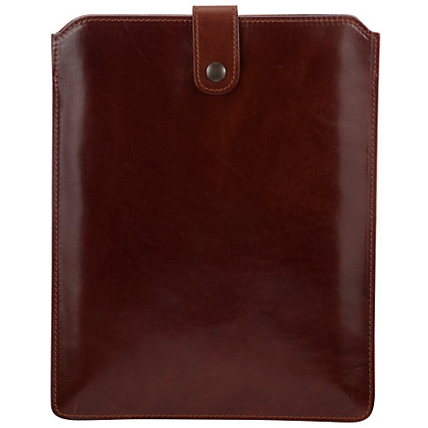 Buy John Lewis Made In Italy iPad Cover, Brown Online at johnlewis.com