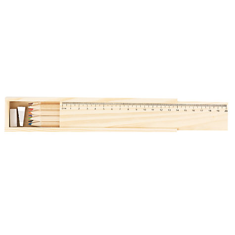 Buy JOHN LEWIS & Co. Pencil Box Set Online at johnlewis.com