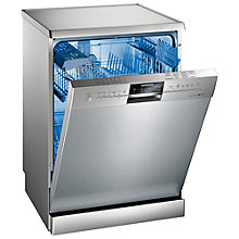 Buy Siemens SN26M831GB Freestanding Dishwasher, Stainless Steel Online at johnlewis.com