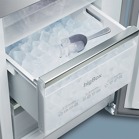 Buy Siemens KG36VVW30G Fridge Freezer, White Online at johnlewis.com