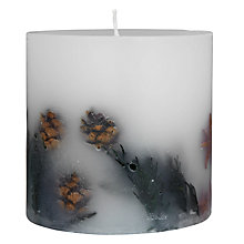 Buy John Lewis Frosted Pine Inclusion Scented 1-Wick Candle Online at johnlewis.com
