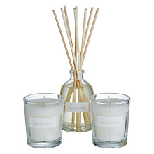 Buy John Lewis Frosted Pine Diffuser and Votive Gift Set Online at johnlewis.com