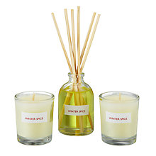 Buy John Lewis Winter Spice Inclusion Scented 3-Wick Candle Online at johnlewis.com