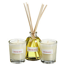 Buy John Lewis Winter Spice Diffuser and Votive Gift Set Online at johnlewis.com