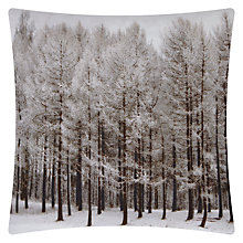 Buy John Lewis Winter Trees Cushion Online at johnlewis.com