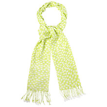Buy White Stuff Elephant Scarf, Zesty Lime Online at johnlewis.com