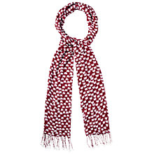 Buy White Stuff Elephant Scarf, Old Red Wine Online at johnlewis.com